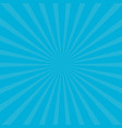 sunburst starburst with ray of light blue color vector image vector image