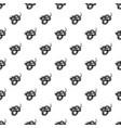 texas snake pattern seamless vector image vector image