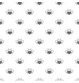 bee pattern seamless vector image vector image