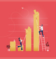 finance success concept vector image
