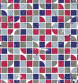 geometric colorful textile abstract seamless vector image