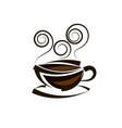 logo coffee template vector image vector image