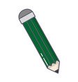 pencil color isolated icon vector image vector image