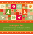 Christmas banner template vector image