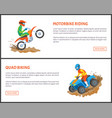 climbing and bungee jumping man and woman hobby vector image vector image