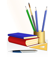 educational set vector image vector image