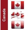 Flag Canada vector image vector image