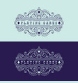 playing cards label vector image