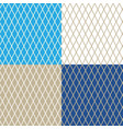 rhombus on different colored background vector image