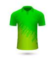 sport shirt design vector image vector image