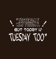 Supernatural yesterday was tuesday