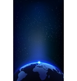 The Earth Planet and Space Background for your vector image