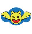 Smile Bat vector image