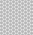 Abstract circle seamless pattern background vector image