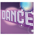 Dance Party Background vector image vector image
