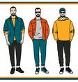 Fashion men vector image vector image