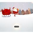 Father Christmas vector image