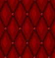 Luxury Red Leather vector image vector image