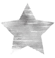 One Grunge Star vector image vector image