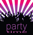 party time with people vector image vector image