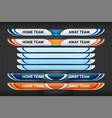 sports digital graphics vector image