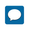 chat app button vector image