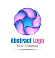 Abstract shape logo design Template for your vector image
