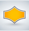 golden genuine quality badge isolated vector image