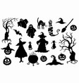 halloween stencil on the white background vector image vector image