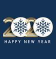 happy new year background with decorative numbers vector image vector image