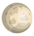 jupiter planet isolated icon vector image