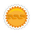 nxt money golden coin commerce vector image vector image