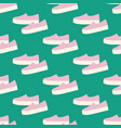 slipon shoes pattern vector image vector image