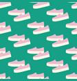 slipon shoes pattern vector image vector image