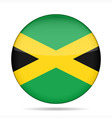 button with flag of Jamaica vector image