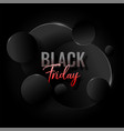 abstract elegant black friday background design vector image vector image