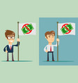ban of money flat vector image vector image
