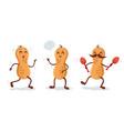 cartoons peanut vector image