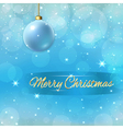 christmas new year background vector image