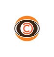 Circle eye camera photography logo