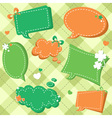 Lucky Saint Patricks day sale stickers and tags vector image vector image