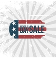 Memorial Day Sale greeting Banner vector image vector image
