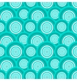 Pattern of azure circles vector image