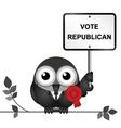 Republican Politician vector image vector image