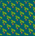 seamless pattern with monstera interior plant in vector image vector image
