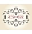 Vector vintage royal old frame ornament decor text