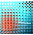 Halftone background for concept design vector image