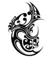 tribal art tattoo vector image