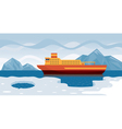 Arctic Cruise vector image
