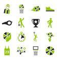 basketball icon set vector image